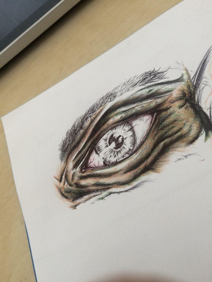 Drawing illustration sketch eye art