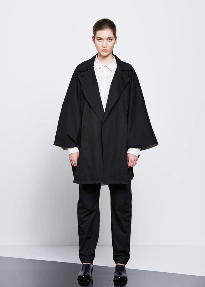 Performance Cape by Kowtow. Ethical organic cotton.