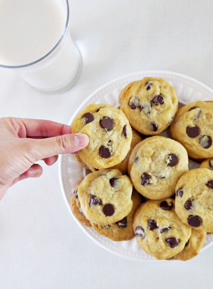 The Ultimate Chewy Chocolate Chip Cookies by VeganChowDown.com