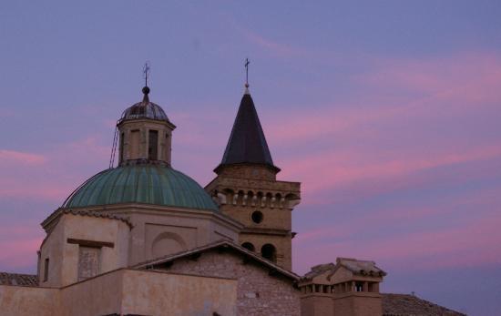 Trevi Umbria Italy Saint Emilian church