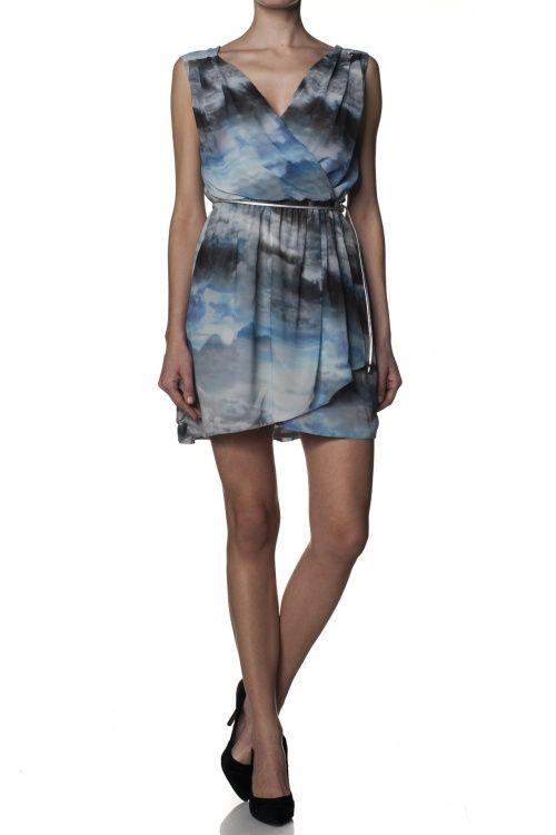 Salsa Store - Vestido estampado com cinto