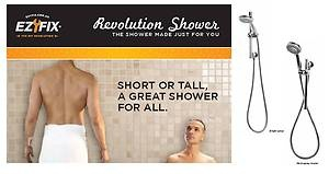 The worlds most adjustable shower