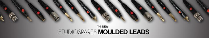 Studiospares Professional Moulded Leads: A Quality product designed to last a lifetime