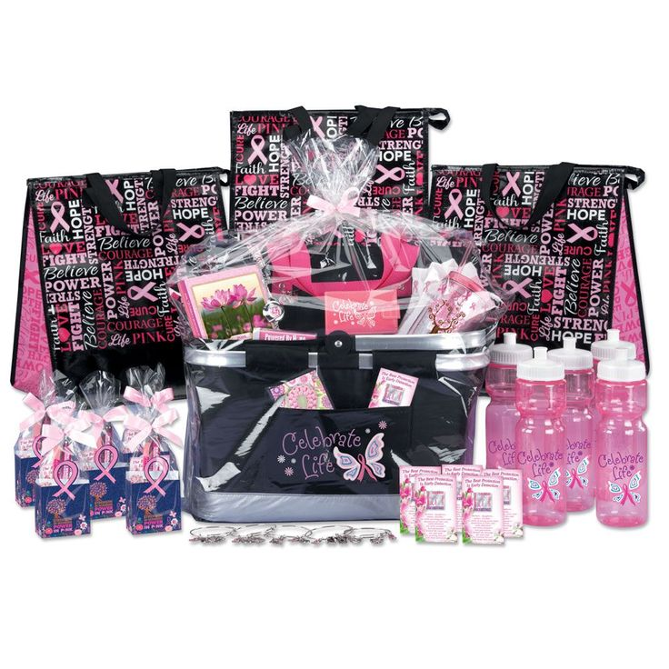 51 gift budget raffle pack for breast cancer awareness - Breast Cancer Pink Color Code