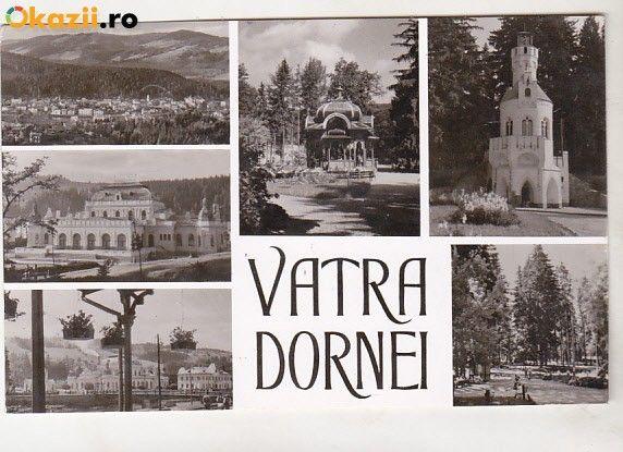 Carte Postala, Circulata, Printata, Vatra Dornei - Bnk cp Vatra Dornei - Vedere - circulata - Okazii (178089741)