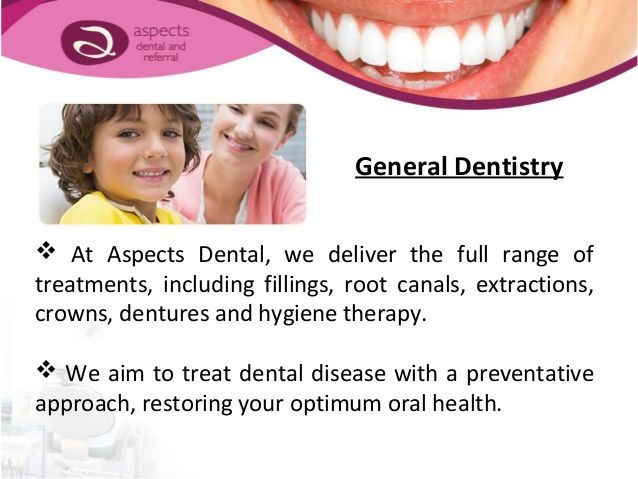  We offer the highest standard of specialist dental treatments in a relaxed, caring environment.  Our in-house specialis...