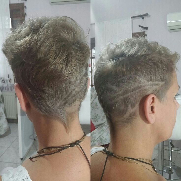 Grey ivory silver hair indola short hair feather hair trimming tatoo
