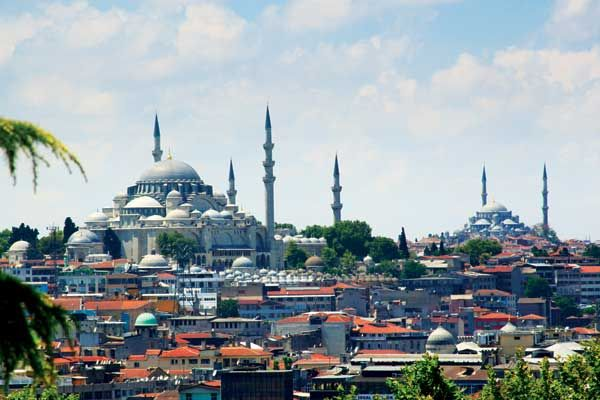Hemispheres Magazine; Three Perfect Days in Istanbul - Istanbul, seen from Topkapi Palace
