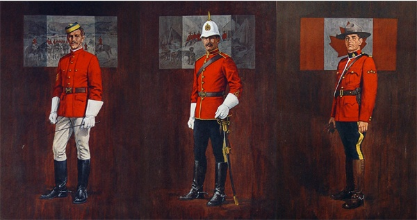 RCMP uniform through the ages