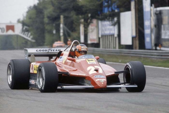 Gilles Villeneuve Zolder 1982