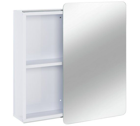 Buy Hygena Sliding Door Mirrored Bathroom Cabinet White At Argos Thousands Of Products For Same D Bathroom Mirror Cabinet White Bathroom Cabinets Room Doors