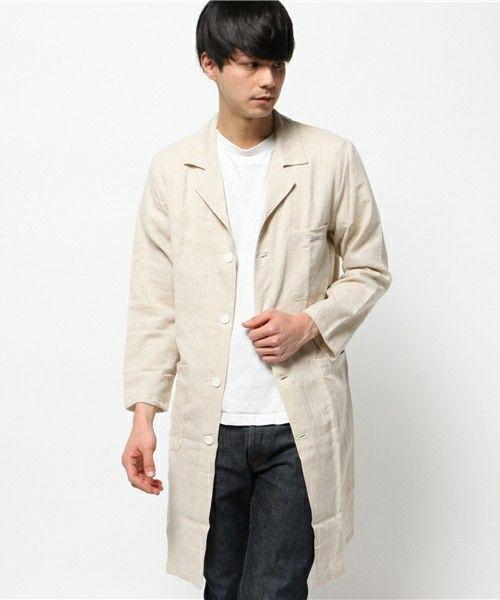着丈も重要。春夏のファッション アイテム メンズショップコート コーデを集めました。