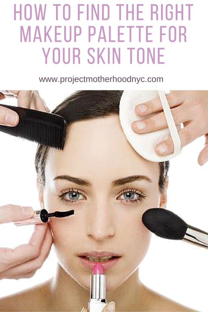 Beauty: How to find the right makeup palette for your skin tone!