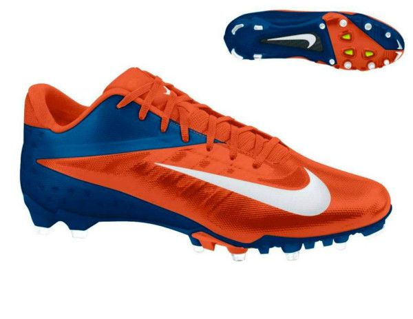 okay...here's one for the guys.  The Denver Broncos today unveiled their updated look for 2012, including their new cleats