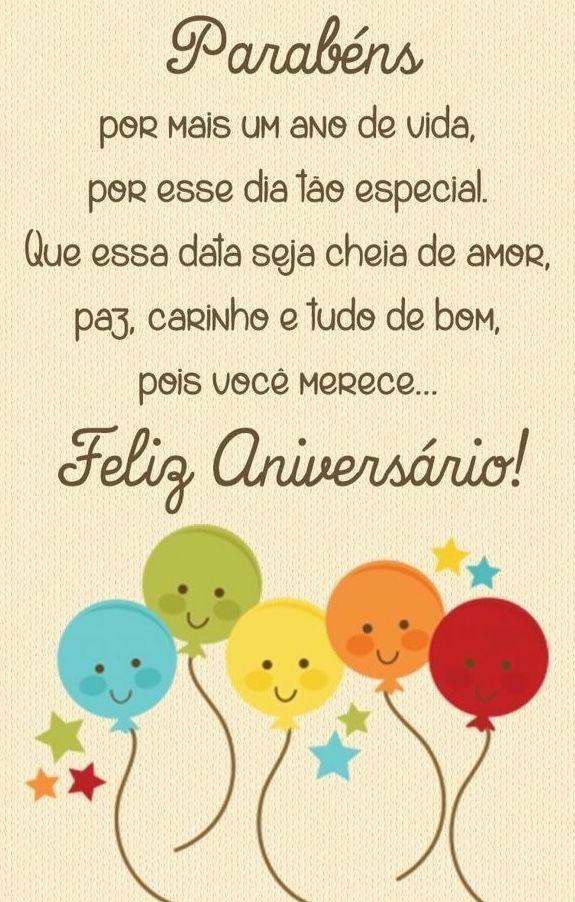 Feliz aniversário que Deus te abençoe sempre. (com imagens ...