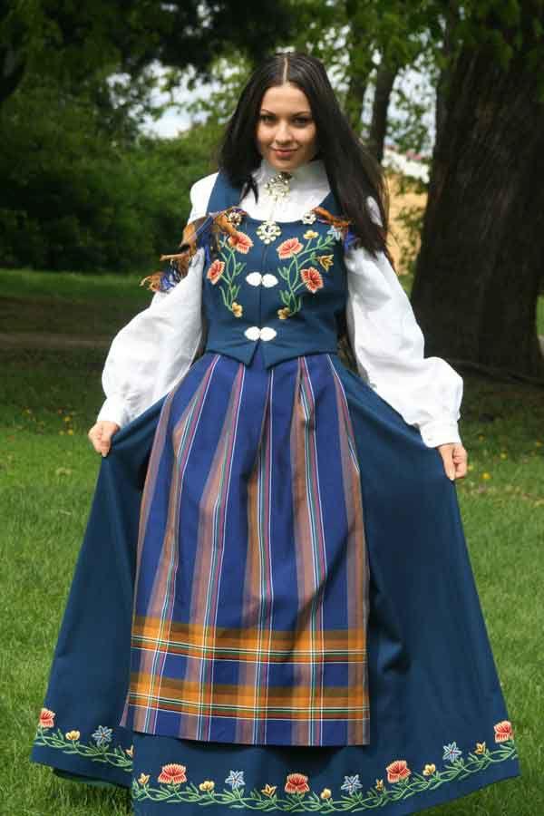 Nordlandsbunad - traditional Norwegian costume