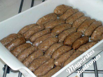 Σουτζουκάκια σμυρνέικα φούρνου