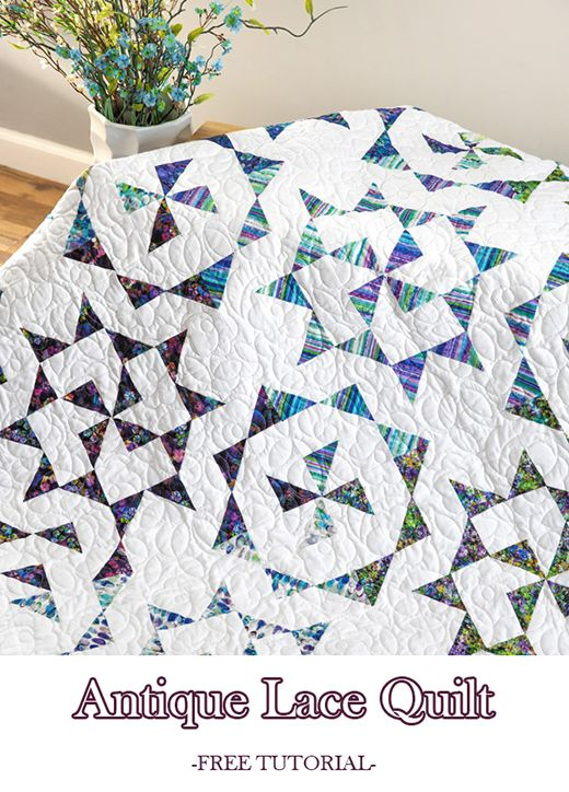 Antique Lace Quilt (Quilting Land) | Missouri Star Quilt Co