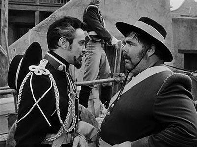 Zorro - Zorro, Luckiest Swordsman Alive2  Monastario convinces Sergeant Garcia to tell everyone that he shot Martinez when the prisoner tried to escape.