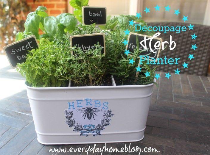 Herb Planter Ideas Part - 34: Best 25+ Herb Planters Ideas On Pinterest | Growing Herbs Indoors, Herb  Garden Planter And Diy Herb Garden