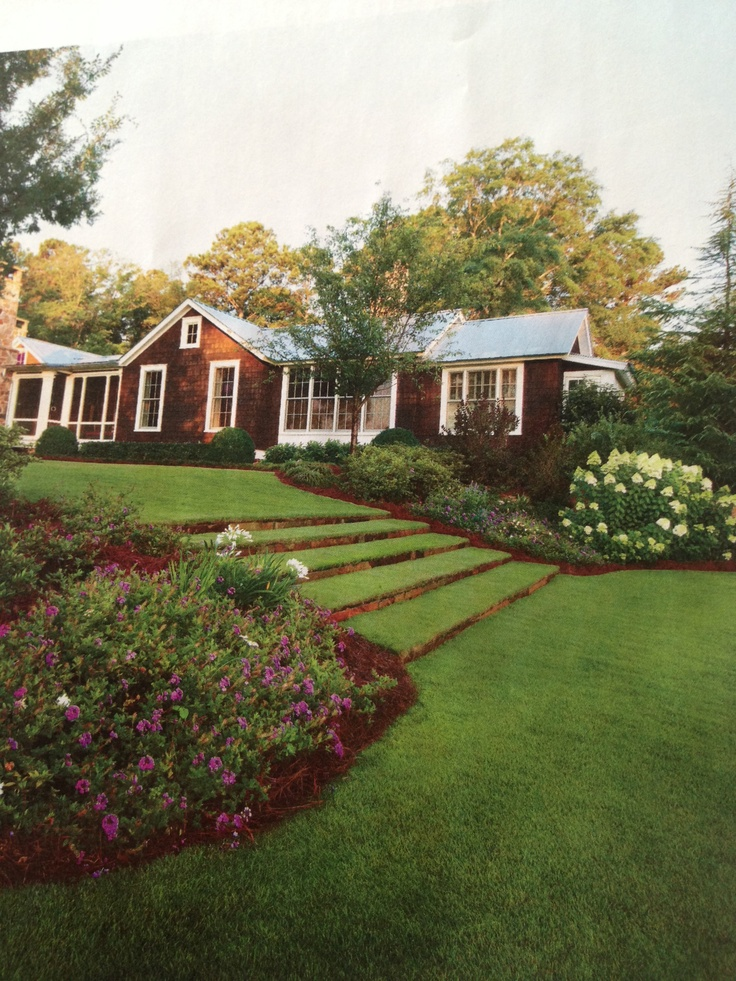 These Lawn Stairs Appeared In Southern Living Magazine June U002713. Love This  Look.