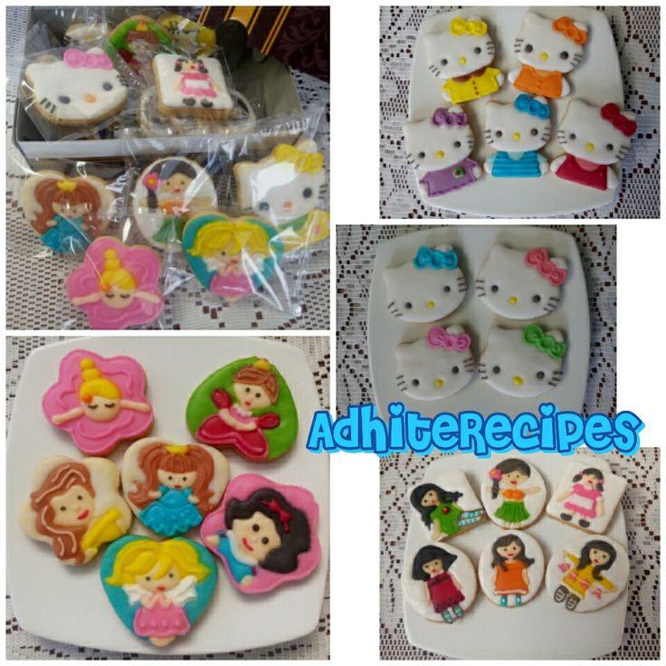 Girly & Hello Kitty cookie
