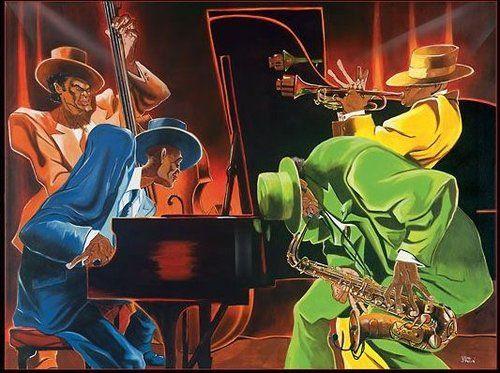 'Mood for Jazz' ~ by Steven Johnson
