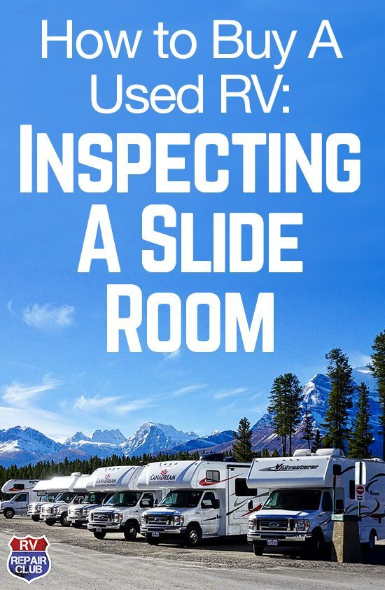 Due to its various capabilities and numerous moving parts, the slide room on an RV is one of the most essential parts to closely inspect when looking into buying a used RV. Dave Solberg teaches you what to keep in mind when checking over a slide room, from the component's mechanisms to the exterior sealant to the room's interior.