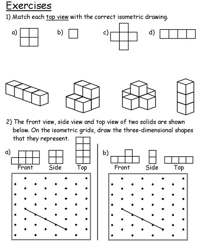 Worksheets For 6 Year Olds To Print Shape