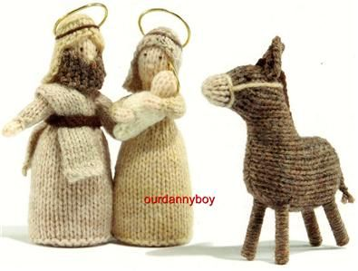 Knitting Patterns Nativity Free : Donkeys, Search and Crochet on Pinterest