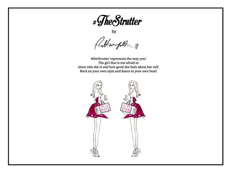 #TheStrutter - Inspiration and task!  #TagYourShoes #PiaHaugseth  Illustration Fashion