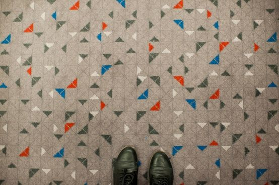beautiful floor, via paperplane.