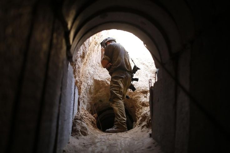 One of the cookie wrappers was dated June 2013, indicating workers had been inside the tunnel in recent months, reports AP. | Stunning Images Of A Tunnel Found From Gaza Strip Into Israel
