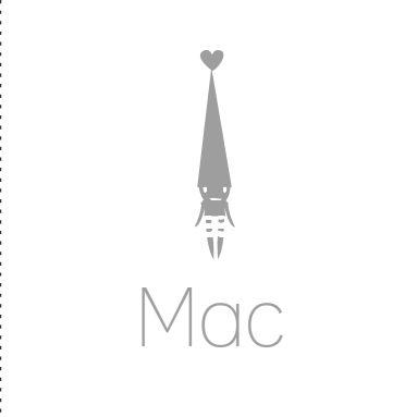 Fantasierijk geboortekaartje met een grijs kleurtje en kabouter. Een simpel maar heel stijlvol sprookjes geboortekaartje.
