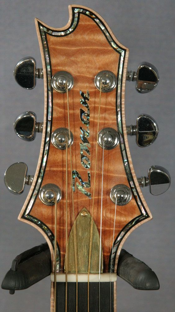 ed roman acoustic slim double cutaway headstock inspiration in 2019 resonator guitar. Black Bedroom Furniture Sets. Home Design Ideas