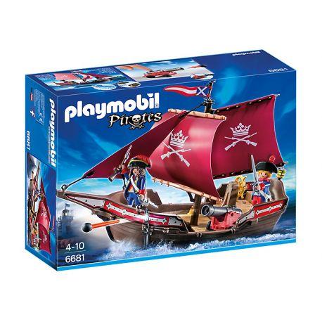 Zestaw Playmobil 6681 dla Dzieci od lat 4 - Żaglowiec Żołnierski z Armatą z Serii Playmobil Piraci.   Morskie przygody czekają na Ciebie. Wciel się w jednego z żołnierzy z żaglowca i broń innych statków na morzu przed złymi piratami.  Sprawdźcie sami:)  http://www.niczchin.pl/playmobil-piraci/2815-playmobil-6681-zaglowiec-zolnierski-z-armata.html  #playmobil #piraciplaymobil #zaglowiec #zabawki #niczchin #krakow