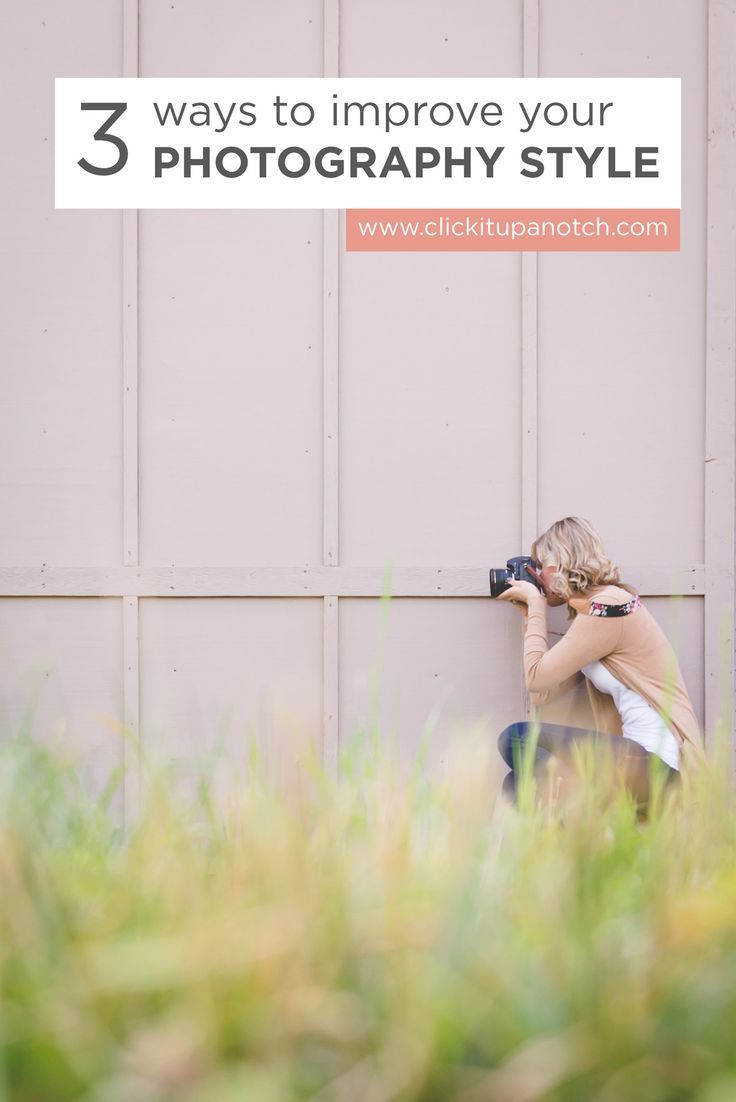 Capture photos, your way. Use these three tips to help find your photography style and start putting your unique stamp on your images.