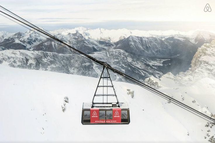 Cable Car Turned Airbnb Listing At French Ski Resort