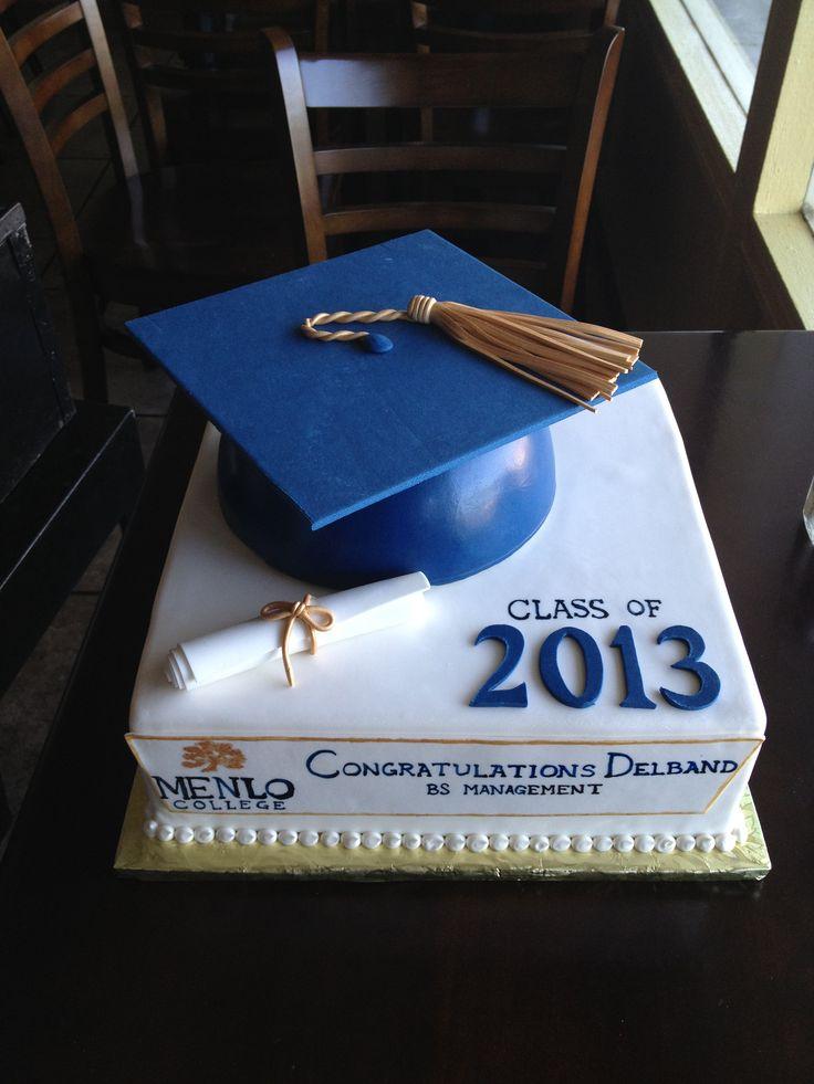 College graduation cake www.cafeattila.com
