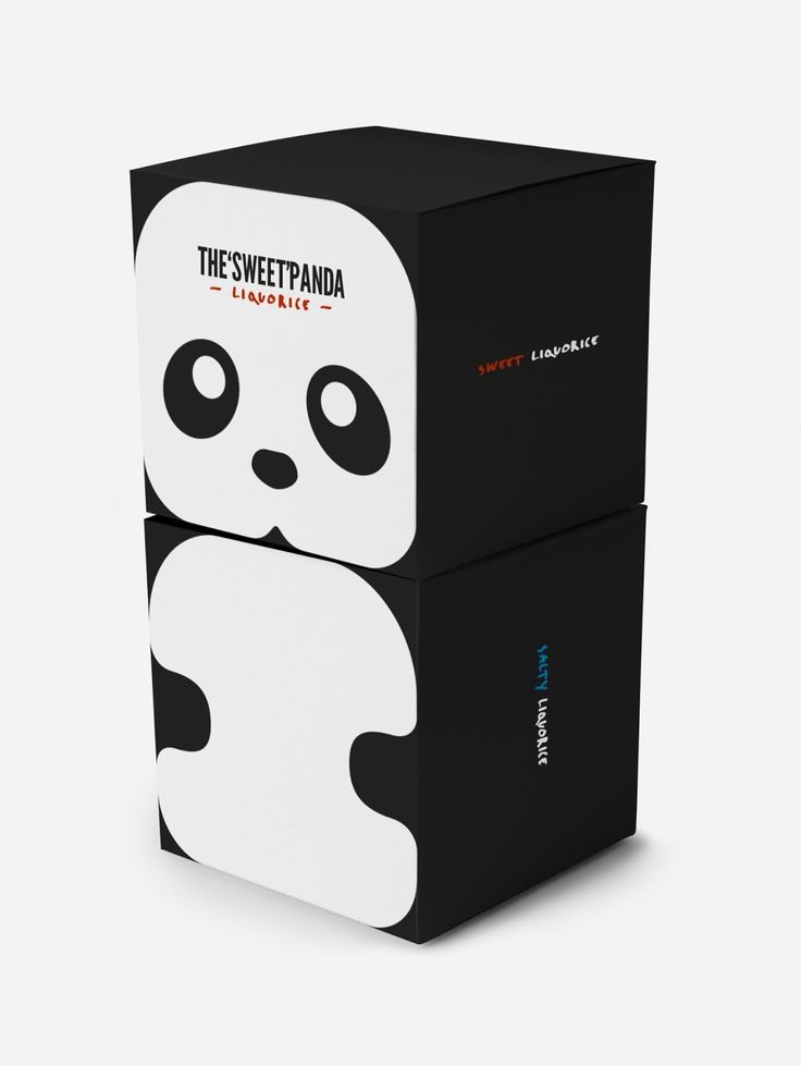 Packaging of the World: Creative Package Design Archive and Gallery: Panda Liquorice