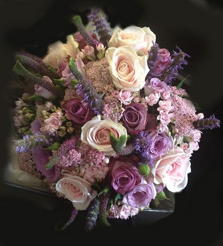 Purple And Pink Wedding Flowers: Bridal Bouquets 1: A Collection Of Weddings Ideas To Try