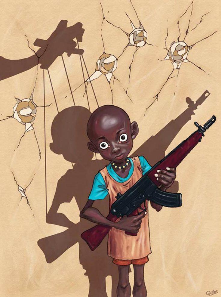 Une sélection des illustrations trash et engagées de l'artiste Luis Quiles, aka Gunsmithcat, un illustrateur espagnol qui nous livre une vision très crue et rude de notre société moderne, qu'il s'agisse des nouveaux usages comme les smartphones et les réseaux sociaux, ou de la religion, du sexe et de la politique.