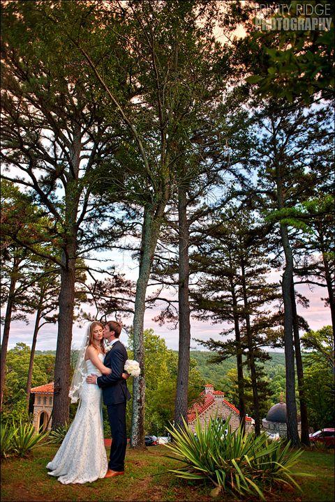 Crescent Hotel Eureka Springs Arkansas Wedding Photographers Reid And Lindsay