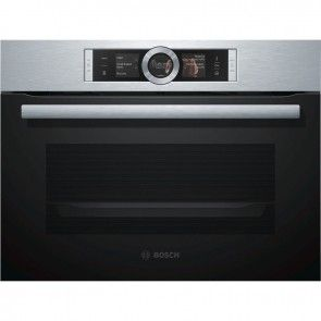 Bosch Compact Microwave Oven Stainless Steel Cmg633bs1b Banyo Co Uk