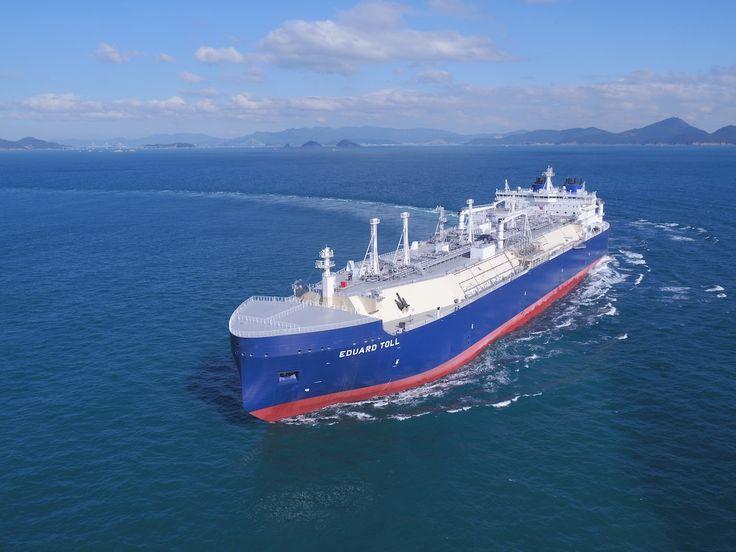 PHOTOS: Teekays New Icebreaker LNG Carrier Eduard Toll