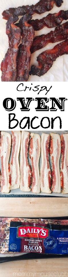 How to make perfect, crispy, thick-cut bacon. Easy to make and easy clean up. Less mess! The Best recipe to make bacon!