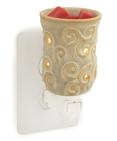 Take a look at this Sand Plug-In Wax Warmer by Candle Warmers & City Creek Candles on @zulily today!