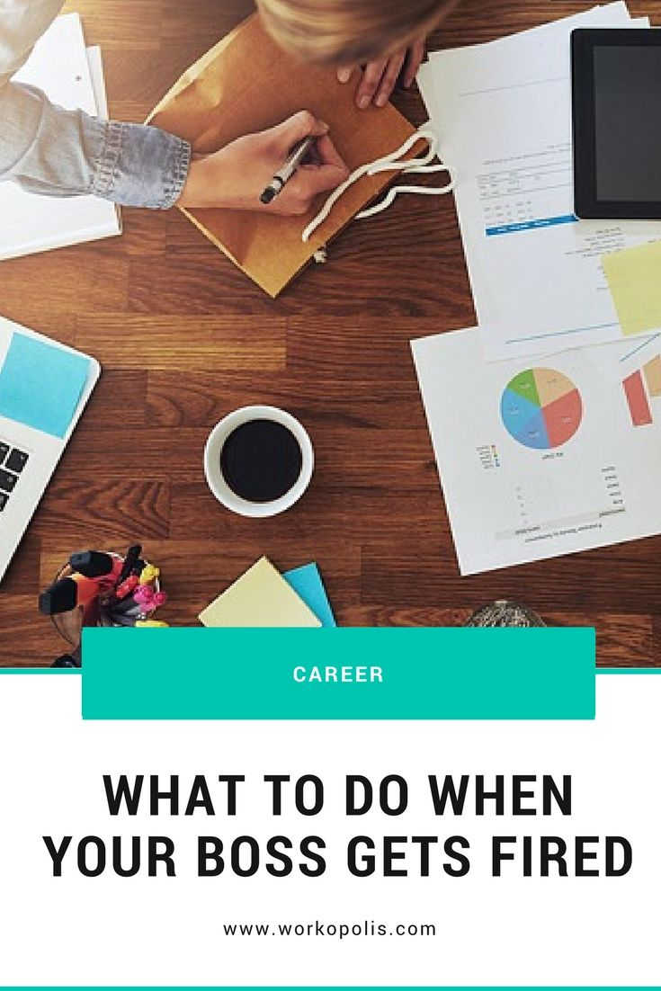 Can it be a good thing for you when your boss is fired? Find out here