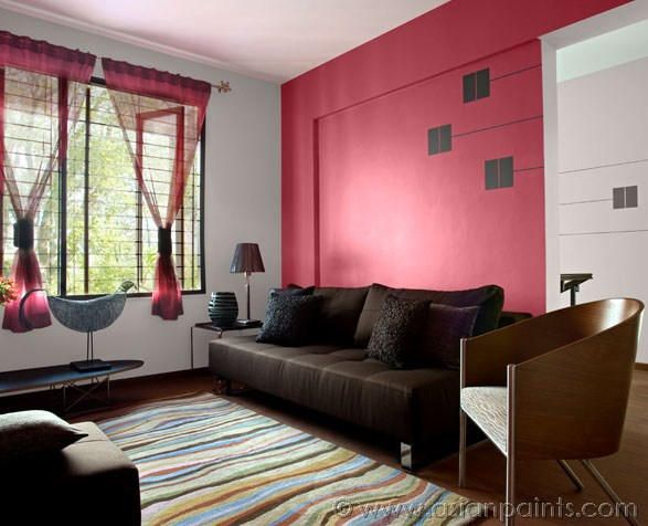 Using colours in layers can create depth & mystery to a space. Each ...