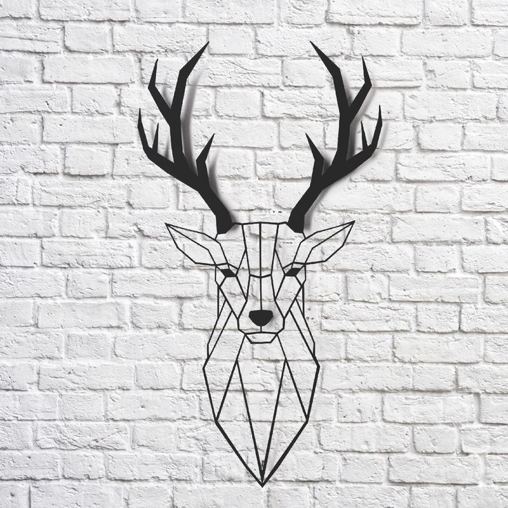 The 25+ best Geometric deer ideas on Pinterest | Geometric ...